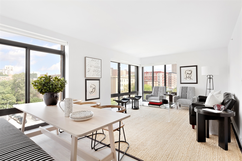 A medley of new condos in the heart of Harlem. Eco efficient. Tech smart. Style flows from every block. The mood, the blues, the buzz. The Rennie.