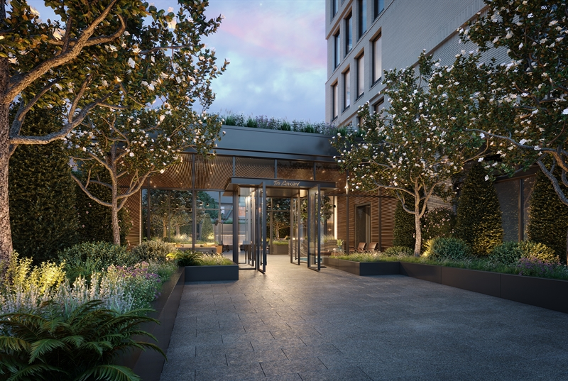 Serenity greets you the moment you enter The Rowan. Designed by acclaimed DXA Studio, natural light, organic materials, and verdant plantings intertwine to create an intimate escape in the heart of Astoria.