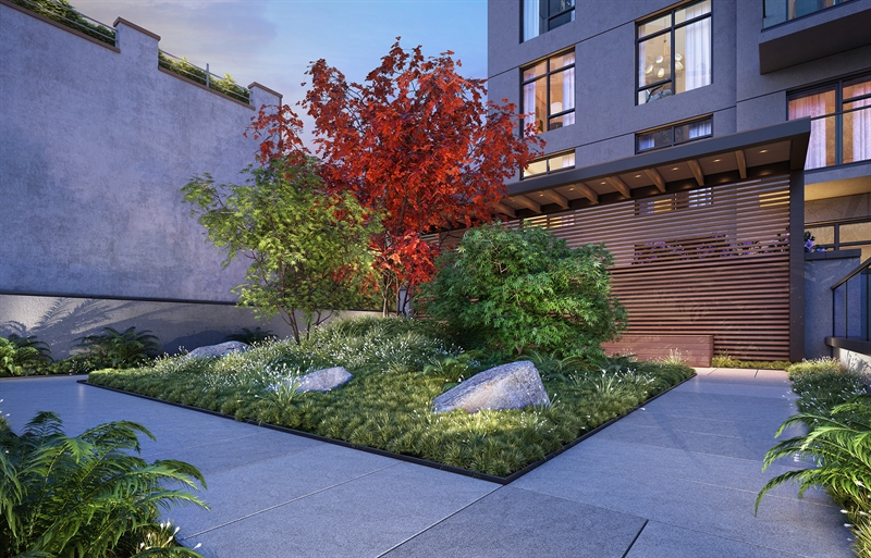 The Zen Garden is a sanctuary of calm and respite. The lush space encourages re-engagement with nature- a connection with something timeless, balancing ancient and modern sensibilities.