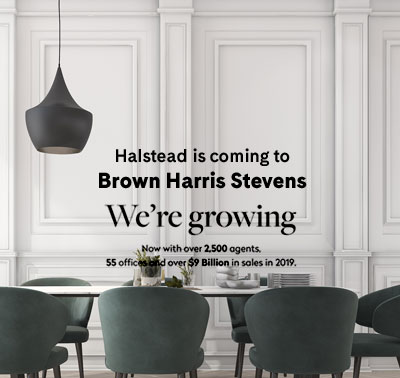 Halstead is Coming to Brown Harris Stevens